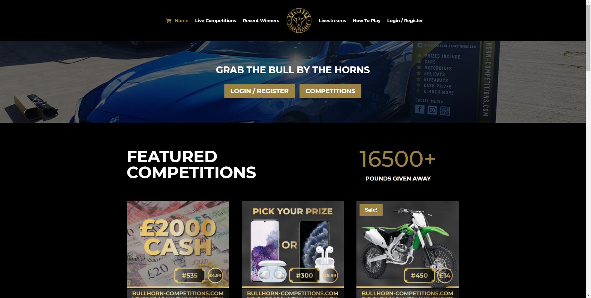 bullhorn competitions.com Websites