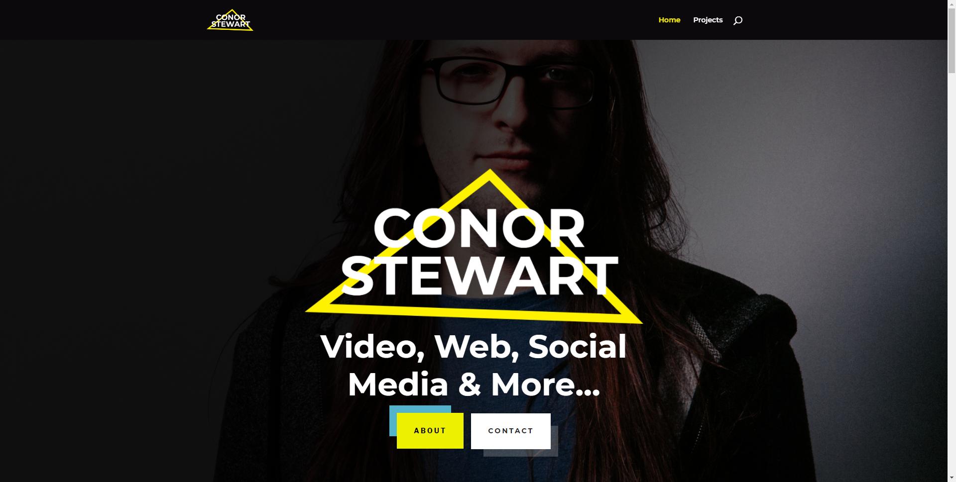 conorstewart.me Websites