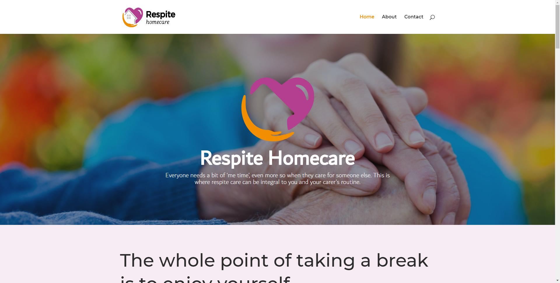respitehomecare.co .uk Websites