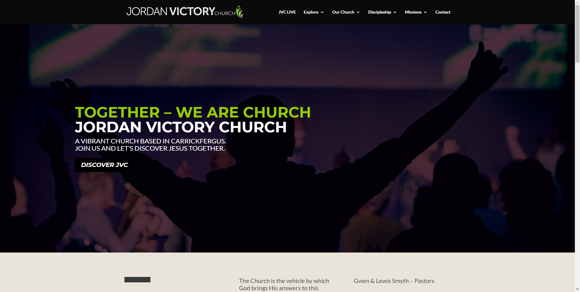 teamjvc.org Websites
