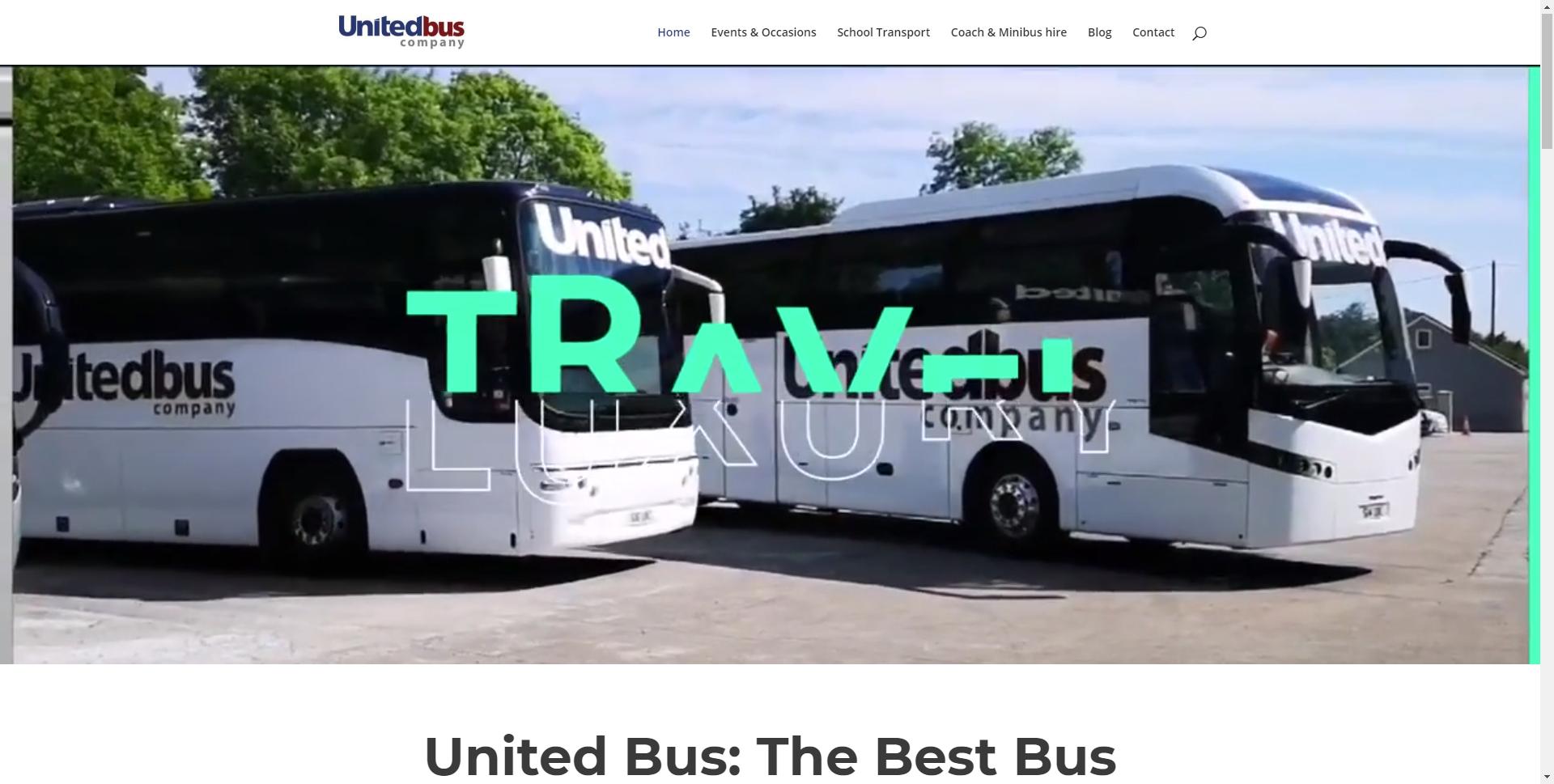 www.unitedbuscompany.com Websites