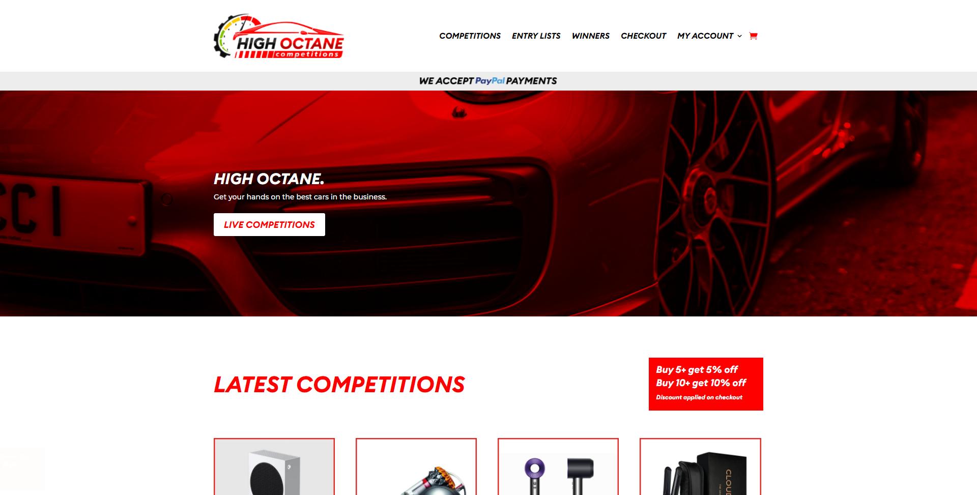 highoctanecompetitions.co .uk Websites